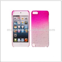 Mobile phone case phone accessories Rain drop crystal hard case cover for ipod touch 5