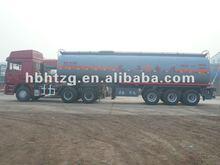 3 axle water tanker trailer truck loading acid medium of 2012
