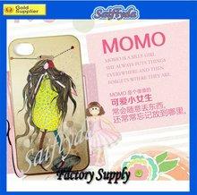 Fashion Princess ikon plastic case for iphone 4/4s
