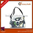 western leather studded beaded lady rhinestone shoulder bag