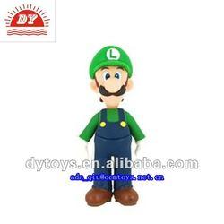 Nintendo toys vinyl Luigi action figure