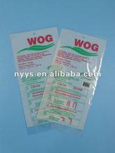 2012 customized Plastic die cut PE bag