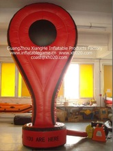 2012 Hot sale commercial grade oxford cloth brand new AD51 inflatable double face advertising
