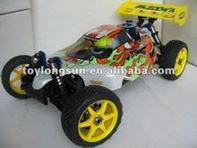 Firelap ERC166 Hobby 1/10 scale 4 Wheels Drive Nitro Off Road RC Buggy