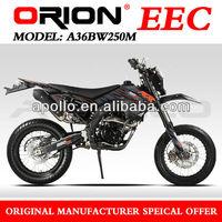 China Apollo ORION EEC 250cc motorcycle On Road EEC 250cc Street Bike A36BW250M Motard