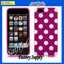 2013 Hot selling for iphone 5 dot fashion case