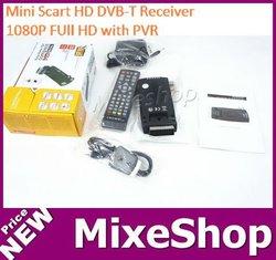 Mini Scart DVB-T Receiver with PVR, MPEG4, H.264, 1080P Full HD