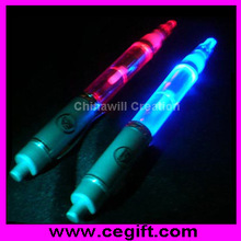 Plastic torch light pen