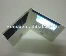 """2012 new video in print lcd video booklet brochure card module , 1.44"""" 2.4"""" 2.8"""" 3.5"""" 4.3"""" 7"""" TFT LCD screen optional"""