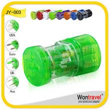 Elegant travel international plug adapter JY-003