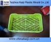 yellow colour plastic fruit basket mould