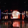 flexible folding stage curtains led displays