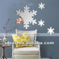 Acrylic mirror as Christmas decoration