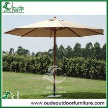 indonesia hard wood outdoor umbrellas