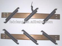Natural anodized Aluminium Louver frame, Brown louver mechanism