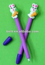 christmas polymer clay ball pen