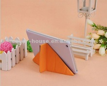 High quality basketball line Leather stand Case For iPad mini