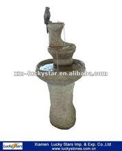Cheap Bird Granite Stone Carving Fountain