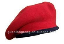 Bens local boina vermelha para venda 100% ou lã de feltro de lã de boa qualidade