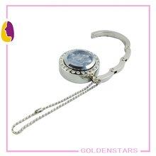 Watch bag hanger, watch purse hook with keychain