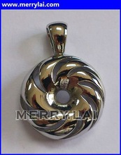 stainless steel vacuum wheel pendant fine polished