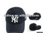 100% cotton fashion baseball cap with wig