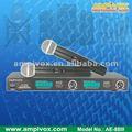 Inalámbrico vhf micrófono recargable ae-88iii