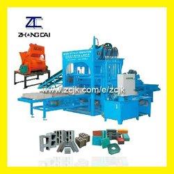 mobile hollow block making machine (QTY4-20A)