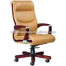 wooden swivel desk chair RF-B006