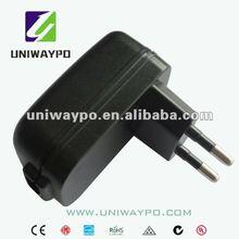 5W wall mount usb charger (EU plug)