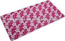 20% nylon, 80% polyester Printed Beach Towel