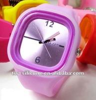 new stylish jelly silicone watch/jelly silicon sports unisex watch