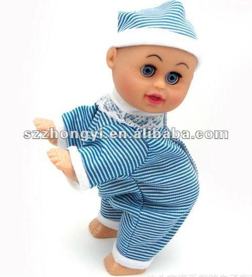 anao de jardim resumo:Eletrônico baby doll/engatinhar cantando bonecas/melhor boneca do