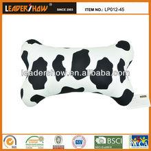 Funny dog bone shape car cushion for head support rest
