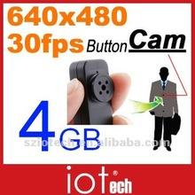 4GB Hidden Button Camera 640x480 AVI