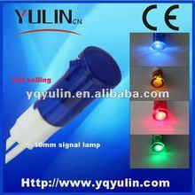 2013 new style 100pcs/lot 10mm yellow 12v led atv signal lights