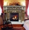 Marble Italian Style Mixed Fireplace Mantel