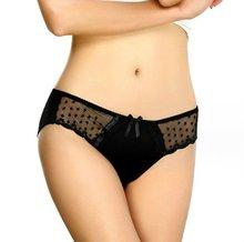 mesh cotton thongs underwear,girls sexy mesh cotton panties