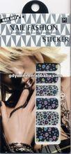 Fashion 2D nail sticker design sticker nail art YM-QYG13