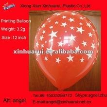 Star Round Balloon ! All printed ballon