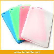 silicone rubber back case for ipad mini