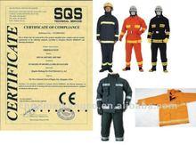 MKF04 fire resistant firepfighter nomex kevlar combat suit