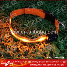 unbranded custom logo led dog collars light for dog birthday
