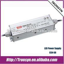 Meanwell 60W 42V IP67 C.C&C.V LED Driver,LED power supply/SMPS/PSU