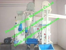 2012 New Rice milling and polishing machine with cyclone dust collector