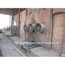 good quality clay brick tunnel kiln with brick machine! 2012