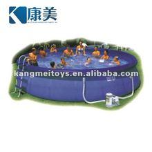 Best sale large inflatable pool slide KM5537