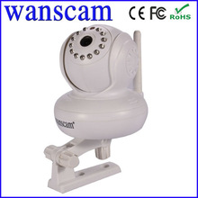 2012 Cheapest MJPEG Compression CMOS two-way audio and motion detection pan tilt wireless p2p mini ip cam