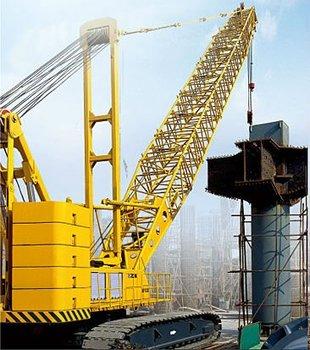 xcmg QUY250 250 ton jib mobile crawler crane