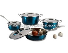 8PCS stainless steel cookware set/kitchenware/casserole